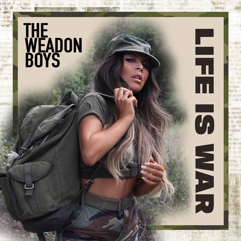 Reclaiming rock and roll with explosive sounds and spectacular stories, 'The Weadon Boys' unleash the powerful 'Life Is War'