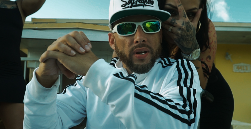 """""""This action-packed, vivid clip is nothing short of a storied action thriller"""" says Miami rap star Salazar """"El Tabaquero"""" as his hit 'Gangsta Lean on my Block' rises in the UK"""