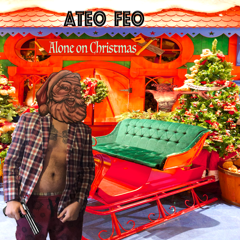 'Ateo Feo' releases the most honest and real Christmas song with 'Alone on Christmas'