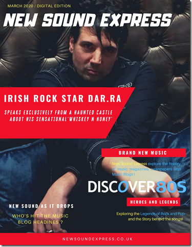 New Sound Express Cover Star - Dar.ra - March 2020_S