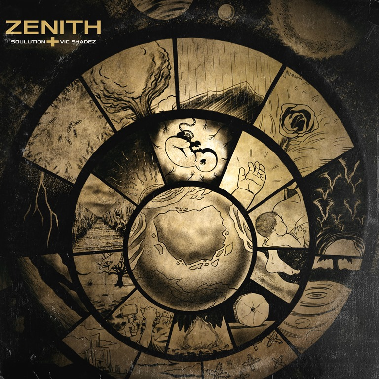 GOING BACK TO REAL HIP-HOP: 'Vic Shadez' and 'Soulution' speak frankly to New Music Times about new radical hip-hop album 'Zenith'