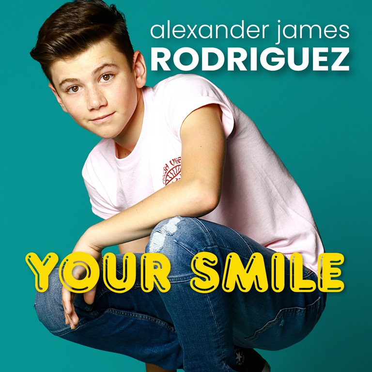 'Alexander James (AJ) Rodriguez' returns in classic California style with his sweet Pop song about a captivating girls 'Quarantine' smile on fun loving big scene debut music video 'Your Smile'