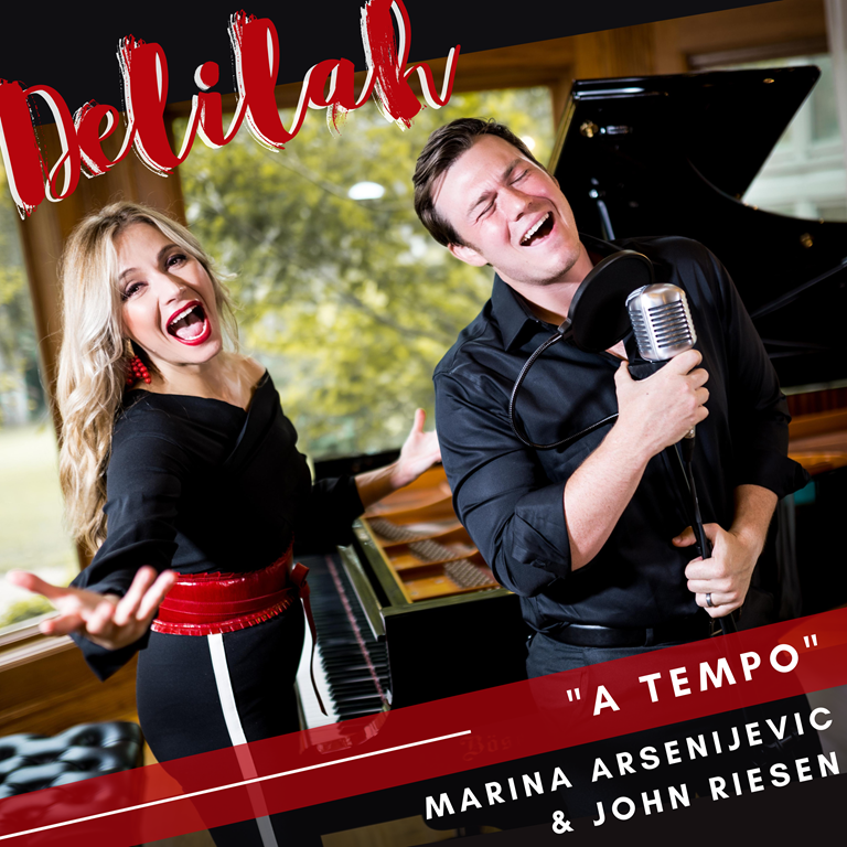 'Marina Arsenijevic' touches hearts and souls with more beautiful music as she releases  'Delilah' and 'My Beauty'