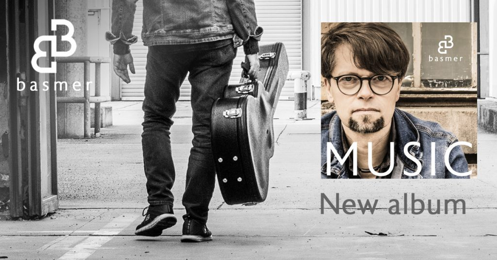 German guitar player and songwriter 'Bernd Basmer' releases his solo album 'Music'