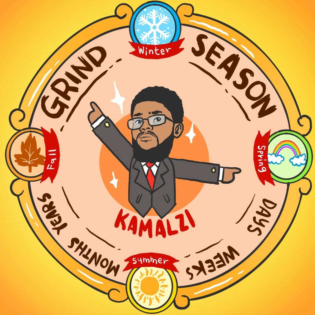 KAMALZI RELEASES MUSIC VIDEO OF TIME FROM ALBUM GRIND SEASON