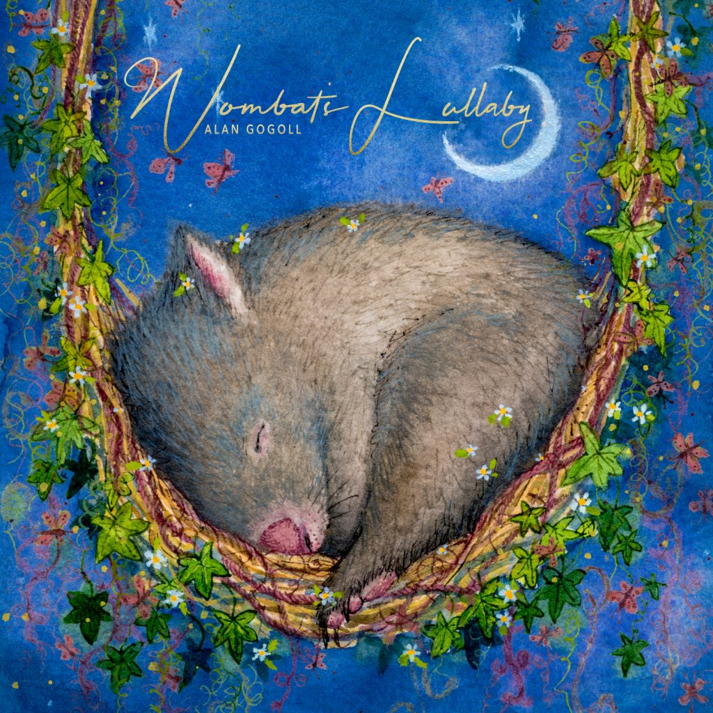 Australian acoustic guitarist, composer and inventor of Bell Harmonics, 'Alan Gogoll' releases 'Sunset Heart' off his E.P 'Wombat's Lullaby'